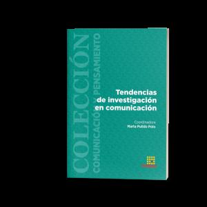 Portada del libro Tendencias de investigación en comunicación